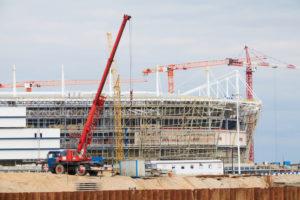 строительство, стротельство спортивных объектов