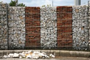 Ограда, ООО ЭВС укрепление забора, большой забор
