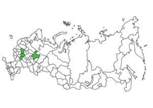 Карта,Россия,Сотни сданных объектов,50 регионов России